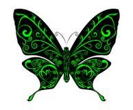 абстрактный вектор бабочки Стоковое Изображение