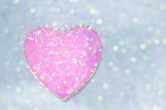 абстрактный вектор Валентайн иллюстрации s сердец дня предпосылки Стоковые Фотографии RF