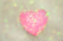абстрактный вектор Валентайн иллюстрации s сердец дня предпосылки Стоковое Фото