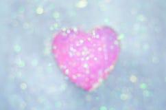 абстрактный вектор Валентайн иллюстрации s сердец дня предпосылки Стоковое Изображение