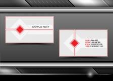 абстрактный вектор визитных карточек творческий бесплатная иллюстрация