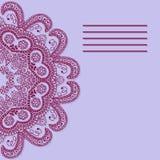 абстрактный вектор знамени также вектор иллюстрации притяжки corel Стоковая Фотография RF