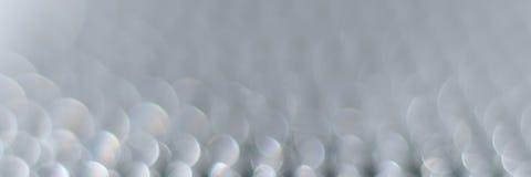 абстрактный вектор иллюстрации влияния bokeh знамени Стоковая Фотография