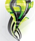 абстрактный вектор иллюстрации 3d иллюстрация вектора