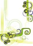 абстрактный вектор иллюстрации Стоковое Изображение RF