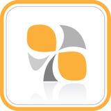абстрактный вектор интернета иконы Стоковые Изображения RF