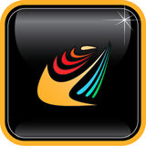 абстрактный вектор интернета иконы Стоковое Изображение RF