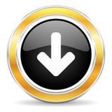 абстрактный вектор иллюстрации иконы download Стоковая Фотография