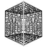 абстрактный вектор клетки 09 Стоковые Изображения RF