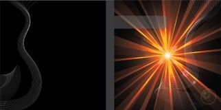 абстрактный вектор конструкции брошюры Стоковое фото RF