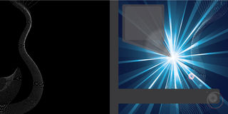 абстрактный вектор конструкции брошюры Стоковое Изображение RF