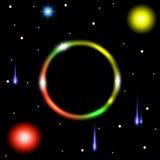 абстрактный вектор космоса конструкции eps10 предпосылки Стоковые Фотографии RF