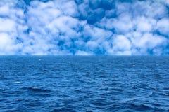 абстрактный вектор неба моря иллюстрации Стоковые Изображения RF