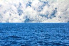 абстрактный вектор неба моря иллюстрации Стоковое Изображение RF