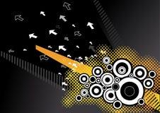 абстрактный вектор предпосылки Стоковые Фотографии RF