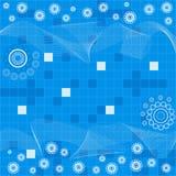 абстрактный вектор предпосылки Стоковое Фото