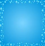 абстрактный вектор предпосылки Воздушные пузыри в воде Стоковое Фото