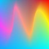 абстрактный вектор предпосылки волнистый Стоковые Фото