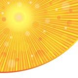 абстрактный вектор предпосылки Лучи Солнця sunlight Стоковое Изображение