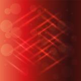 Абстрактный вектор предпосылки светового эффекта красного света Стоковые Изображения RF