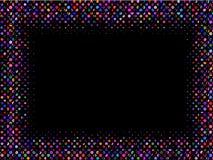 абстрактный вектор рамки Стоковые Изображения RF
