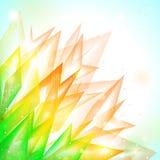 абстрактный вектор флоры предпосылки Стоковая Фотография RF