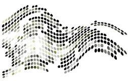 абстрактный вектор форм Стоковая Фотография RF