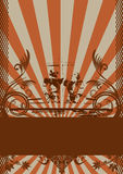 абстрактный вектор grunge конструкции Стоковая Фотография RF