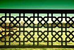 абстрактный взгляд моря картины Стоковое Изображение