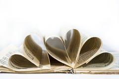 Абстрактный взгляд музыки Книга с примечаниями стоковая фотография