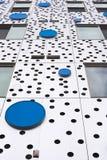 Абстрактный взгляд внешней стены Стоковые Фото
