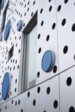Абстрактный взгляд внешней стены Стоковое Изображение