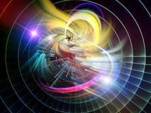 Абстрактный взрыв визуализирования Стоковые Изображения RF