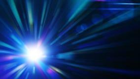 абстрактный взрыв сини предпосылки Стоковая Фотография RF
