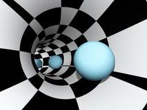 абстрактный вортекс движения Стоковое Изображение