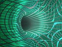 абстрактный вортекс интернета Стоковая Фотография RF
