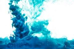 абстрактный выплеск краски Стоковая Фотография