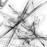 Абстрактный геометрический элемент с спирально формирует Абстрактное illust иллюстрация вектора
