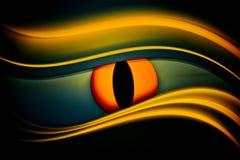 абстрактный глаз предпосылки Стоковая Фотография RF