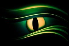 абстрактный глаз предпосылки Стоковая Фотография