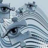 абстрактный глаз Стоковое Изображение RF