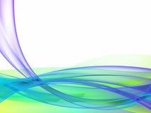 абстрактный голубой зеленый цвет Стоковое фото RF