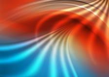 абстрактный голубой красный цвет Стоковая Фотография RF