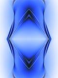 абстрактный голубой состав Стоковая Фотография RF
