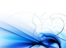 абстрактный голубой элемент Стоковая Фотография RF