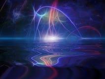Абстрактный горизонт Стоковые Фотографии RF