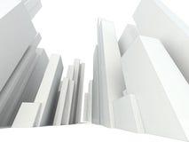 Абстрактный городской пейзаж иллюстрация вектора