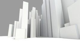 Абстрактный городской пейзаж бесплатная иллюстрация