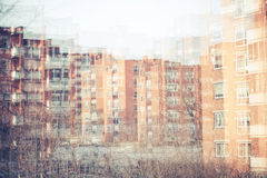 Абстрактный город Стоковые Изображения