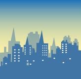 абстрактный город Стоковое Фото